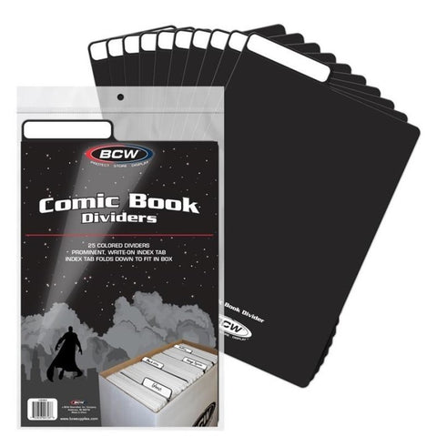 BCW Comic Divider - Black (Pack of 25)