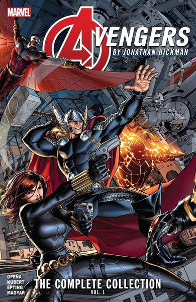 Avengers by Jonathan Hickman : The Complete Collection Vol 1 Tpb