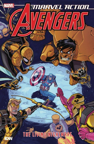 MARVEL ACTION - AVENGERS BOOK 04 - THE LIVING NIGHTMARE TPB