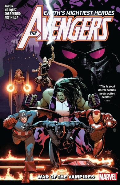 AVENGERS BY JASON AARON VOL 03 - WAR OF VAMPIRES TPB