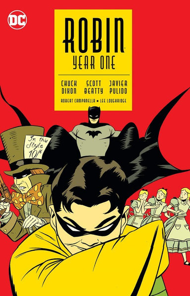 ROBIN - YEAR ONE (NEW EDITION) TPB