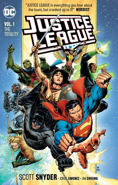 JUSTICE LEAGUE VOL 1 - THE TOTALITY TPB