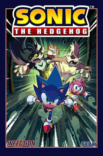 SONIC THE HEDGEHOG VOL 04 - INFECTION TPB