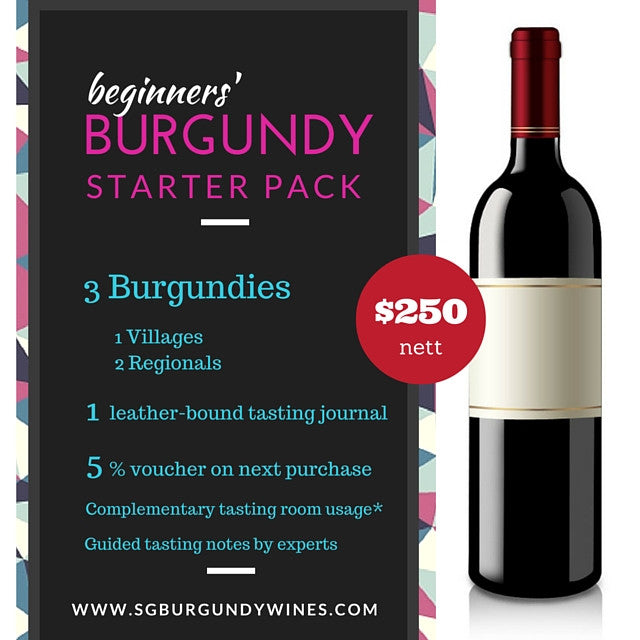 Burgundy Red Wine Beginner Starter Pack