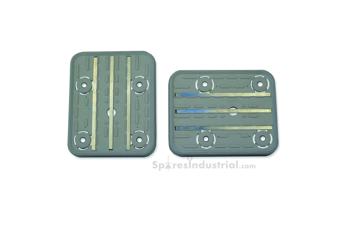 Vacuum Pad Bottom With Metal Strip