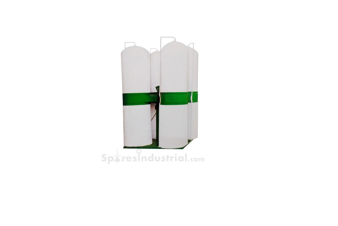7.5-10 HP 8 Bag Dust Collector