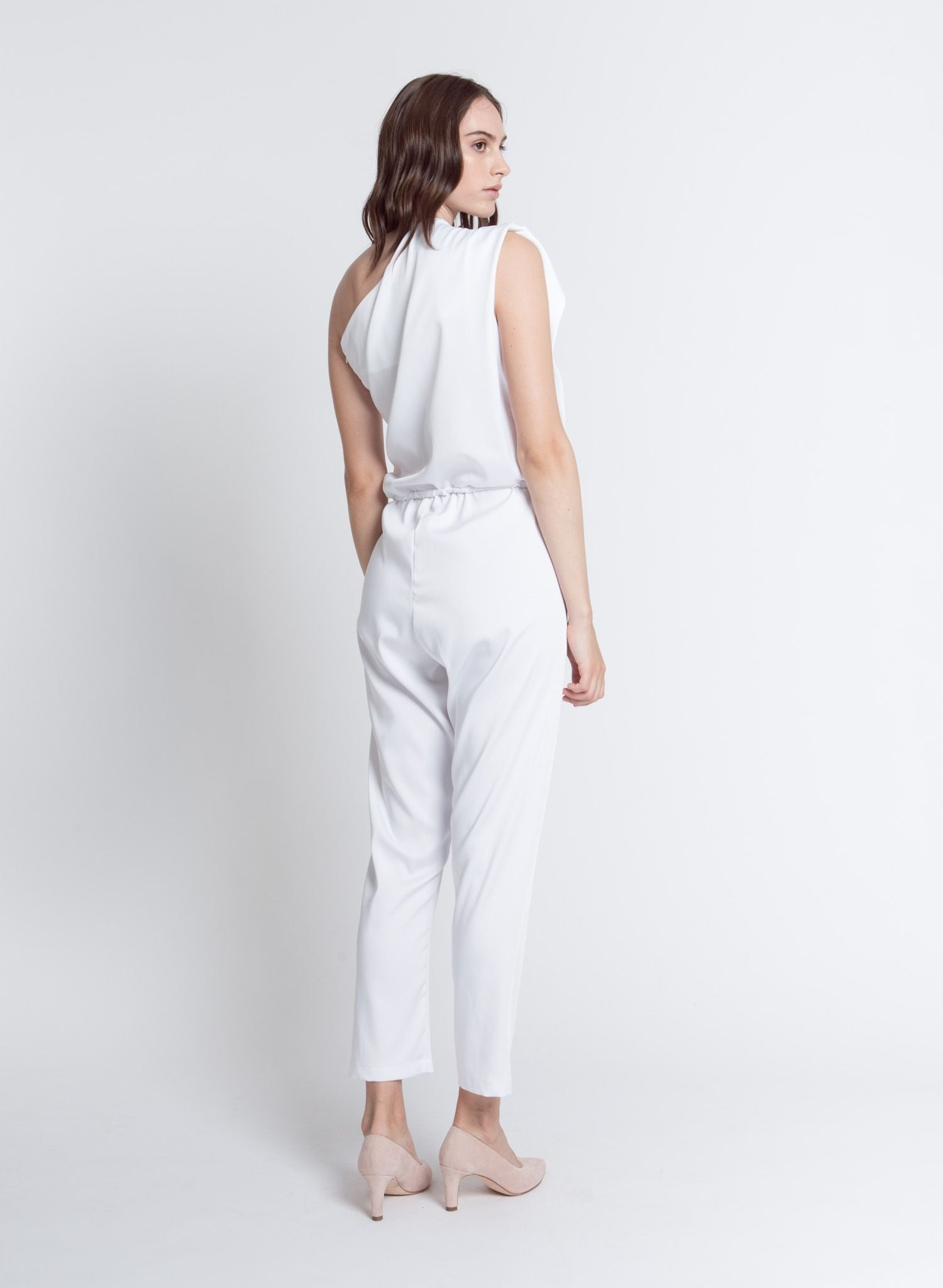 TULIP JUMPSUIT WHITE