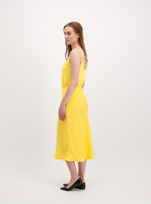 STRAP TOP YELLOW
