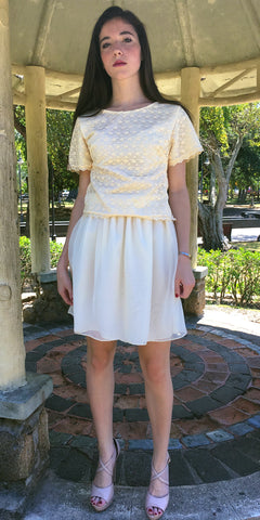 Lasting Kiss Ivory Dress - US S - Limited