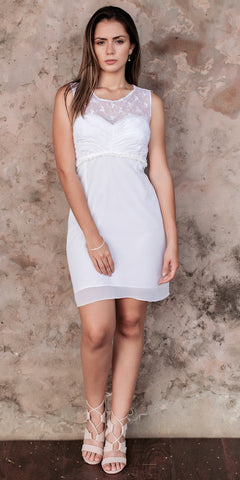 Greatest Bliss White Dress - Limited