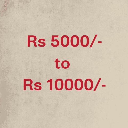 Price Rs.5,000 to 10,000