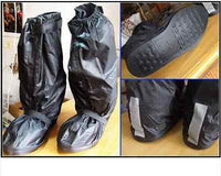 Rain Shoes Cover High Quality - Velcro over zip & Solid Base