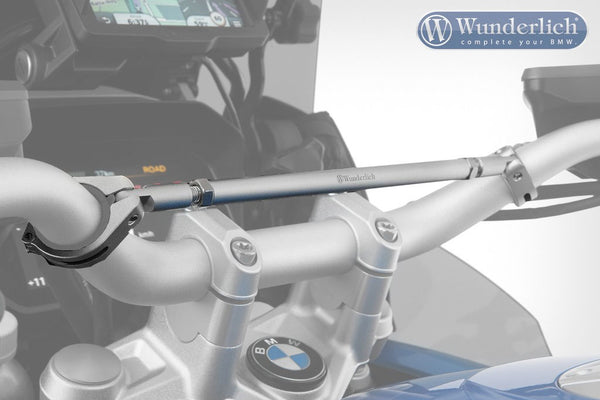 BMW R1250GS Ergonomics - Handlebar Cross-Strut - Motousher