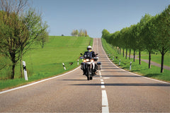 BMW F800GS Ergonomics - Cruise Control & Protection