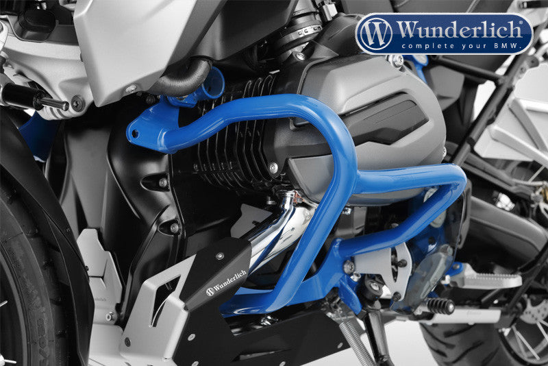 Bmw R1200gs Protection Engine Crash Bars Blue Motousher