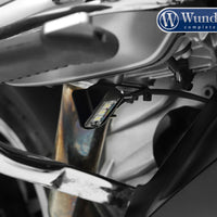 BMW R1200GS Ergonomics - Side Stand Illuminator.