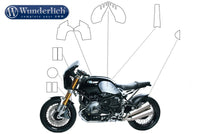 BMW R NineT Protection - Tank Protection Set