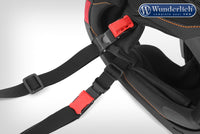 BMW R1250GS Ergonomics - Helmet Carry Strap