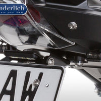 "BMW R1200R Styling - Indicators ""CUBE Type"" (for Number Plate Removal Kit) - Motousher"