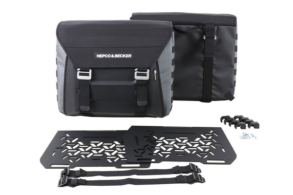 Sidebag XTRavel with Universal Holding Plates - Motousher