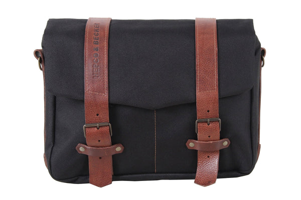 Courier bag Legacy Series (Black) - Motousher