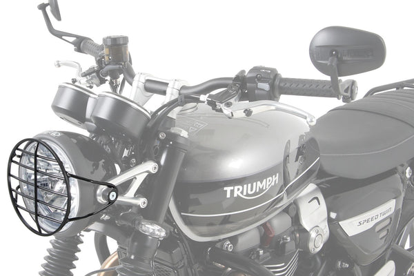 Triumph Scrambler 1200 Protection - Headlight Guard - Motousher