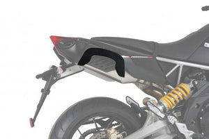 "Aprilia Tuono V4 R Sidecases Carrier - Quick Release ""Lock It"" - Motousher"