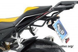 Aprilia Tuono V4 R Topcase carrier - Movable Hinge (Easy Rack)