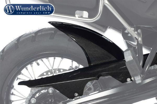 BMW F800GS Plastics - Rear Hugger (Carbon).