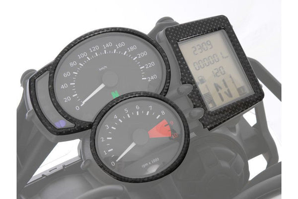 BMW F800GS Styling - Instrument Surround (Carbon) - Motousher