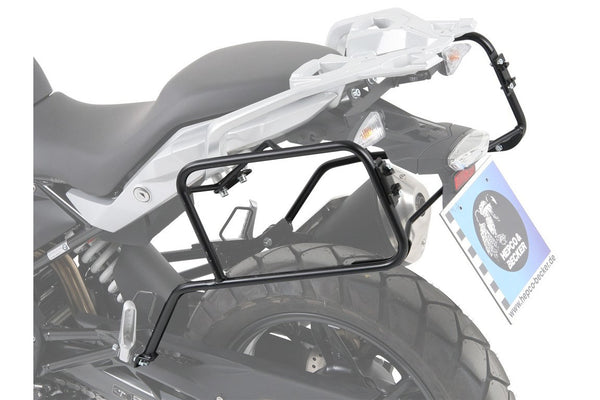 BMW G 310 GS Carrier - Sidecases - Quick Release (Black) - Motousher