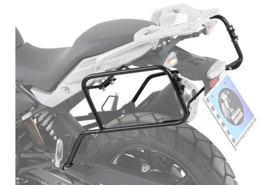BMW G 310 GS Carrier - Sidecases - Quick Release (Black)