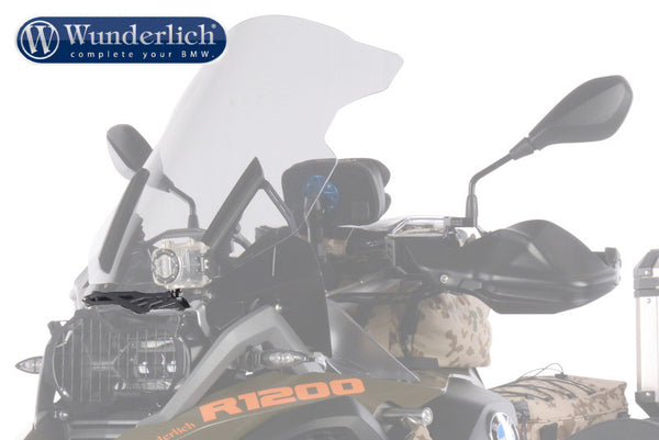 BMW R1200GS Accessories - Camera Mount (Above Headlight).