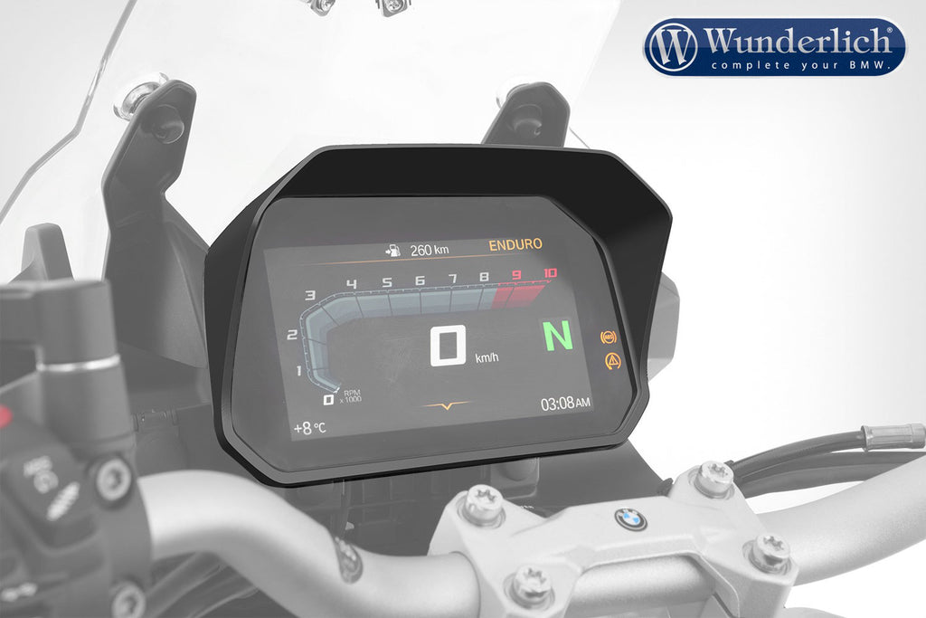 BMW R 1200 GS LC Ergonomics - Cockpit Glare Protection