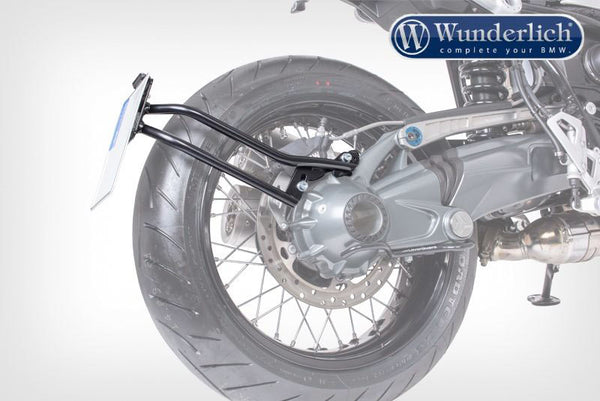 BMW RNineT Styling - Swing Arm Number Plate Holder