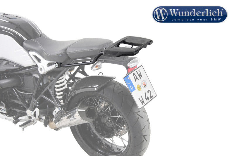 BMW R NineT Luggage - Carrier Topcase - Fixed Hinge (Alu Rack)