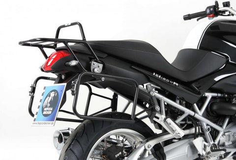 "BMW R1200 R Sidecases Carrier - Quick Release ""Lock It"""