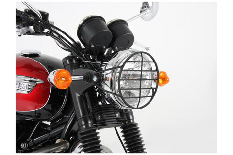 Triumph Bonneville Protection - Headlight Guard (Black)