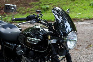 Triumph Bonneville T100 Screen - Marlin Flyscreen - Motousher