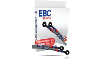 Triumph Street Triple 675R EBC Steel Braided Brake Lines