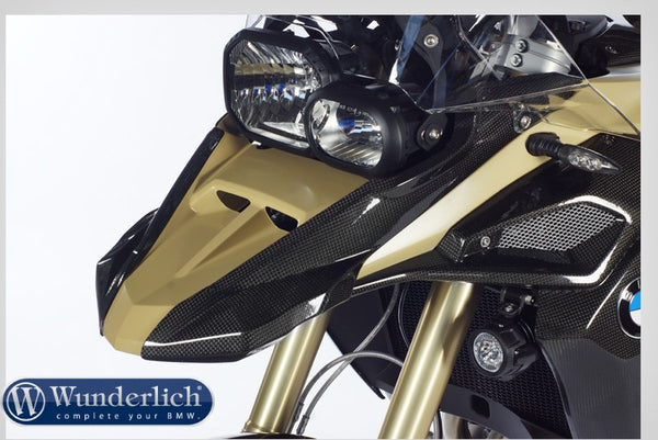 BMW F800GS Styling - Enlargement (Carbon) - Motousher