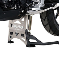 Triumph Tiger Explorer 1200 Protection - Centre Stand Plate.