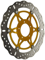 Triumph Speed Triple Brakes - Rotors Contoured Floating (EBC Brakes)