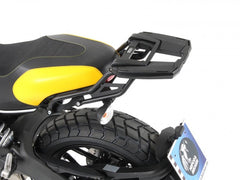 Ducati Scrambler Topcase carrier - Movable Hinge (Easy Rack)