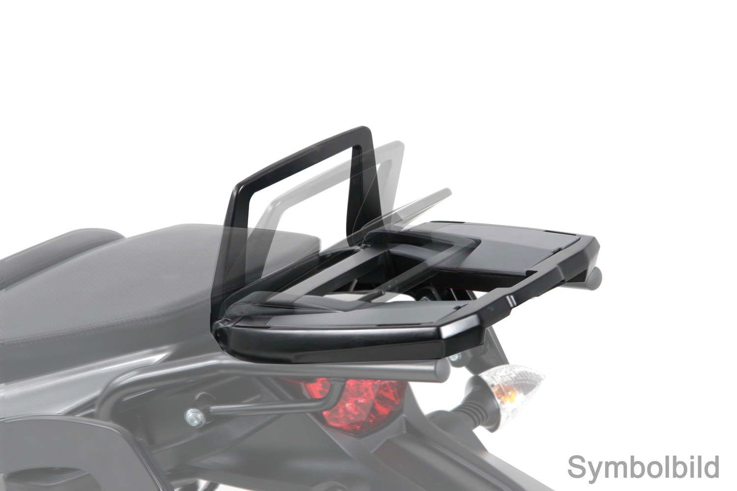 KTM 390 Duke Topcase carrier - Movable Hinge (Easy Rack).