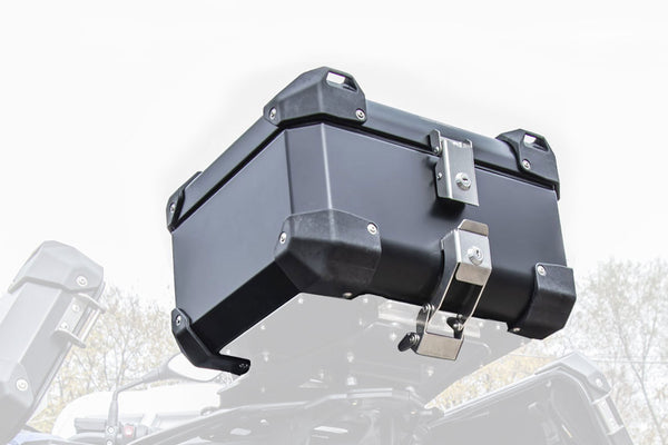 Bumot Luggage - Top Case 43L Defender Evo (Aluminium, Black & Frozen Grey).