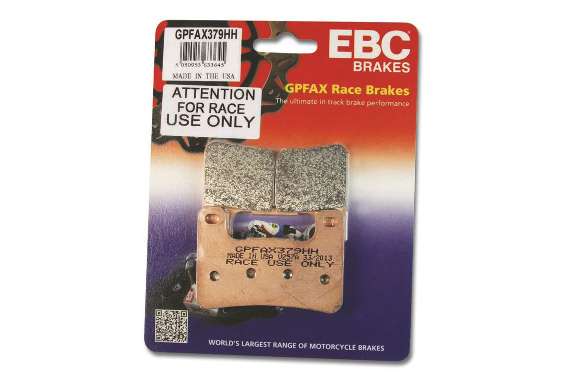 GPFAX Brake pads - Grand Prix Racing Series - EBC Brakes UK - Motousher