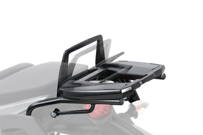 Kawasaki ER 6n Topcase carrier - Movable Hinge (Easy Rack)