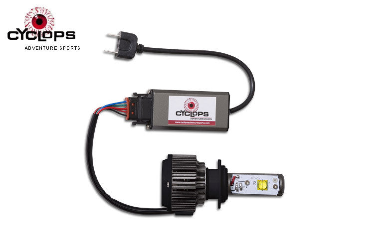 Led H7 4000 Lumen Headlight - Cyclops ( 1pc)
