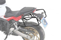 "Honda CBR 650F Carrier Sidecases - Quick Release ""Lock It""."